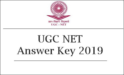 UGC NET Answer Key 2019