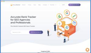 seo keyword rank tracker
